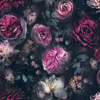 Arthouse Dark Magic Pink / Black Wallpaper - Product code: 692801