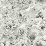 Arthouse Glitter Bloom White Wallpaper - Product code: 692803