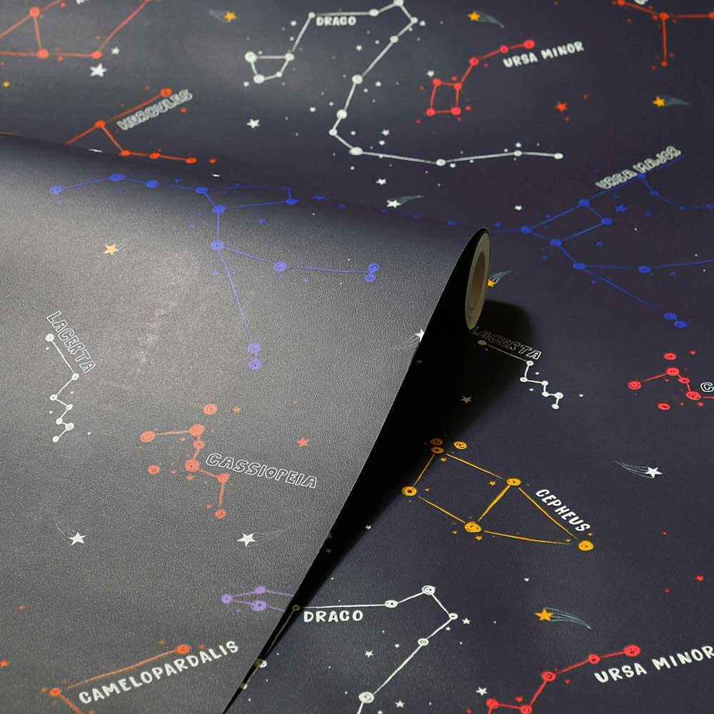 Arthouse Constellations Navy Wallpaper - Product code: 697900