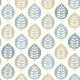Arthouse Amira Leaf Blue Wallpaper - Product code: 907400