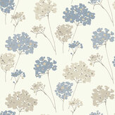 Arthouse Anya Floral Blue Wallpaper - Product code: 907500