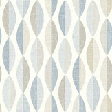 Arthouse Aziza Geo Blue Wallpaper - Product code: 907506