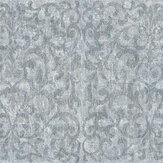 Fardis Luxe Scroll Silver Chalice Wallpaper - Product code: 10321