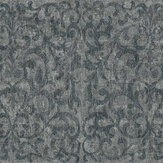 Fardis Luxe Scroll Graphite Wallpaper - Product code: 10325