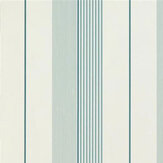 Ralph Lauren Aiden Stripe Teal Blue Wallpaper - Product code: PRL020/14