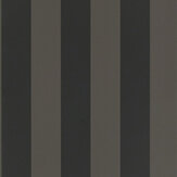 Ralph Lauren Spalding Stripe Black Wallpaper - Product code: PRL026/17