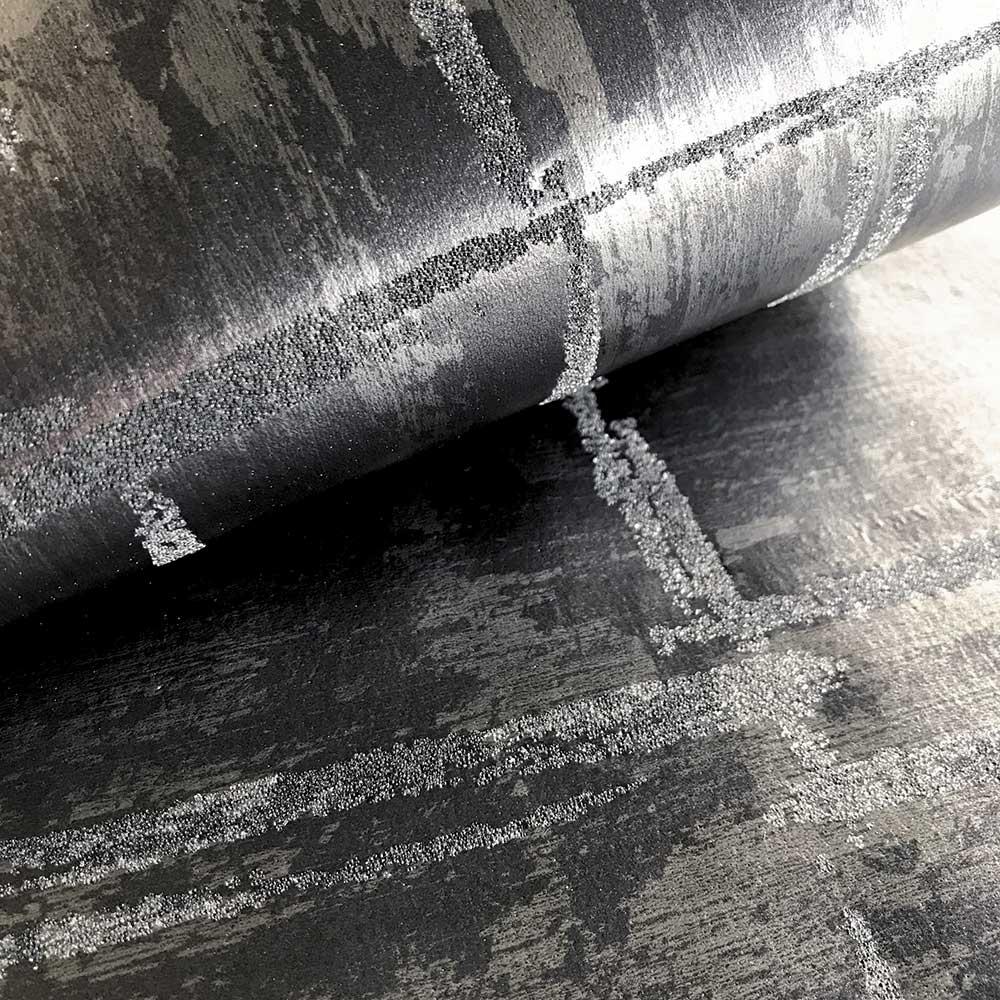Lyra Wallpaper - Steel - by Fardis