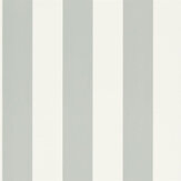Ralph Lauren Spalding Stripe White and Dove Wallpaper - Product code: PRL026/19