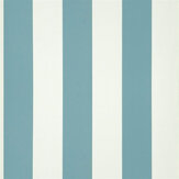Ralph Lauren Spalding Stripe Slate Blue Wallpaper - Product code: PRL026/25