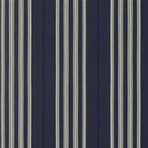Ralph Lauren Palatine Stripe Midnight Wallpaper - Product code: PRL050/04