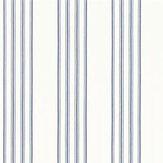 Ralph Lauren Palatine Stripe Porcelain Blue Wallpaper - Product code: PRL050/05