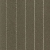 Ralph Lauren Langford Chalk Stripe  Khaki Wallpaper - Product code: PRL5009/04