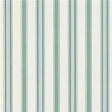 Ralph Lauren Basil Stripe Teal Blue Wallpaper - Product code: PRL709/08