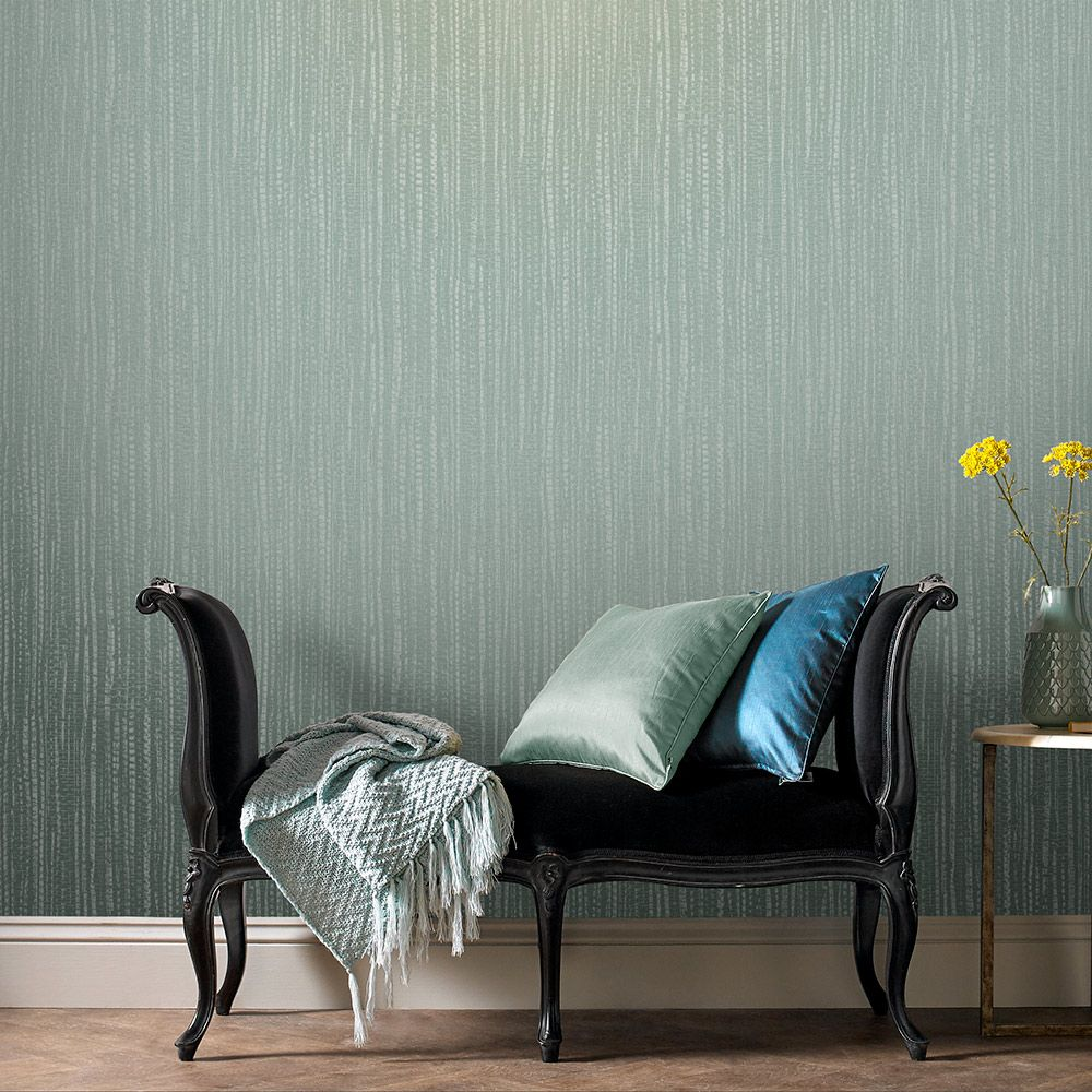 Graham & Brown Bamboo Texture Green Wallpaper - Product code: 104728