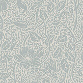 Sandberg Anton Misty Blue Wallpaper - Product code: 814-56