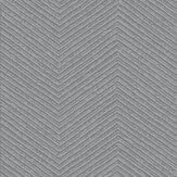 Graham & Brown Chevron Silver Wallpaper - Product code: 104749