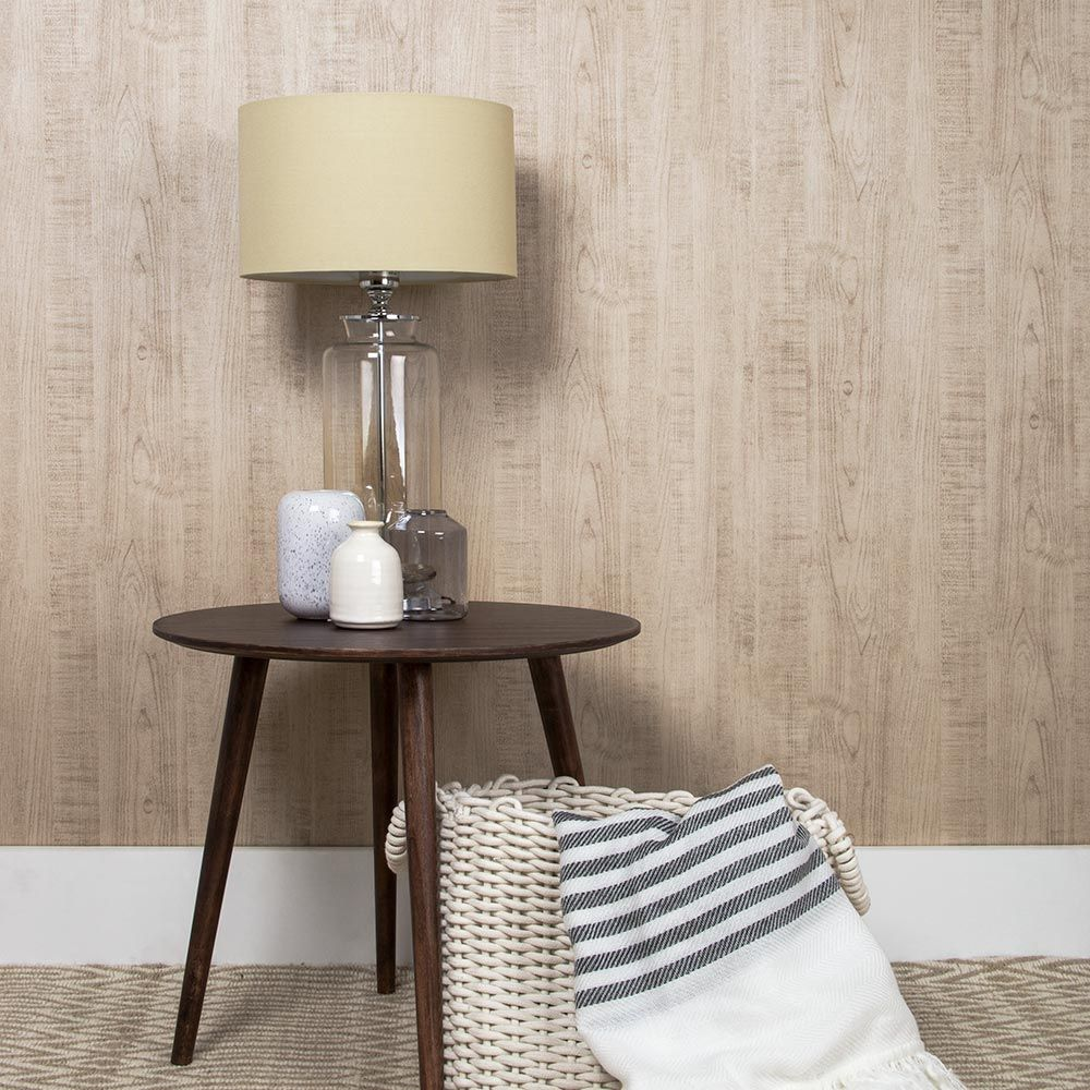 Graham & Brown Wood Grain Natural Wallpaper - Product code: 105860