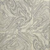Osborne & Little Travertino Gilver / Black Wallpaper - Product code: CW6000-04