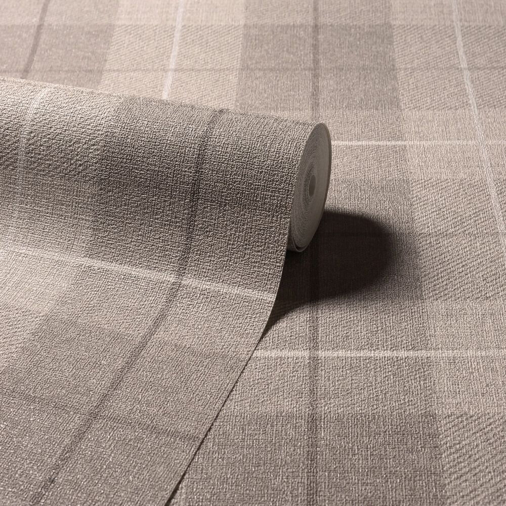 Arthouse Country Tartan Taupe Wallpaper - Product code: 294903