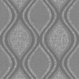 Arthouse Curve Charcoal Wallpaper - Product code: 295100