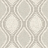 Arthouse Curve Taupe Wallpaper - Product code: 295102