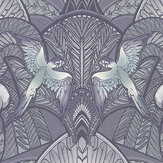 Laurence Llewelyn-Bowen Pleasure Island Metallic Grey Wallpaper - Product code: LLB6041
