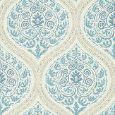 Sanderson Madurai Indigo Wallpaper - Product code: 216754