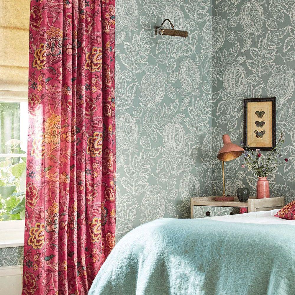 Sanderson Cantaloupe English Grey Wallpaper - Product code: 216761