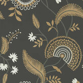 Sanderson Hakimi Ebony Wallpaper - Product code: 216769