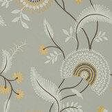 Sanderson Hakimi Ash Grey Wallpaper - Product code: 216770