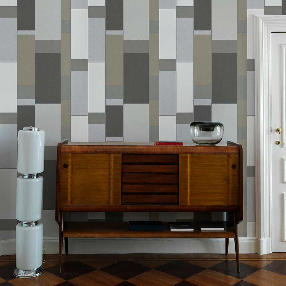 Coordonne Structural Inox Wallpaper - Product code: 8601160