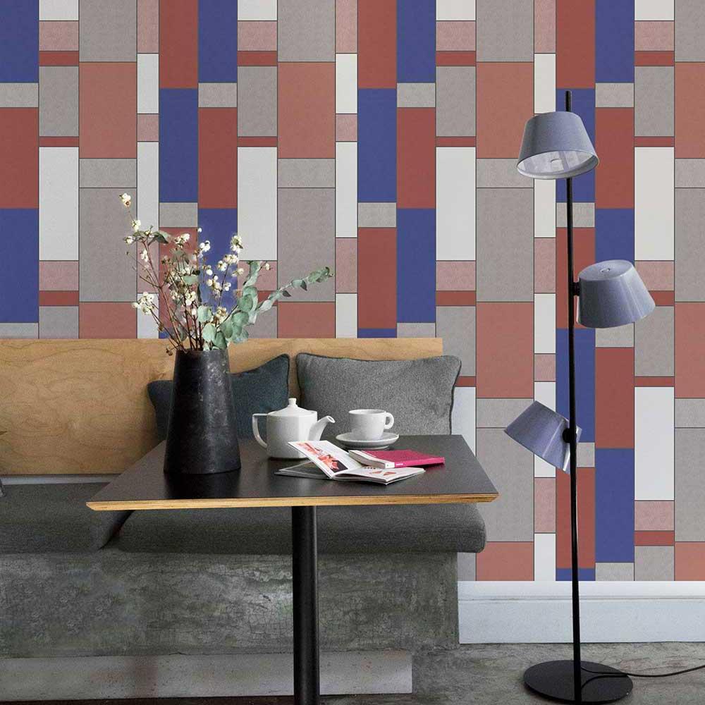 Structural Wallpaper - Brick - by Coordonne