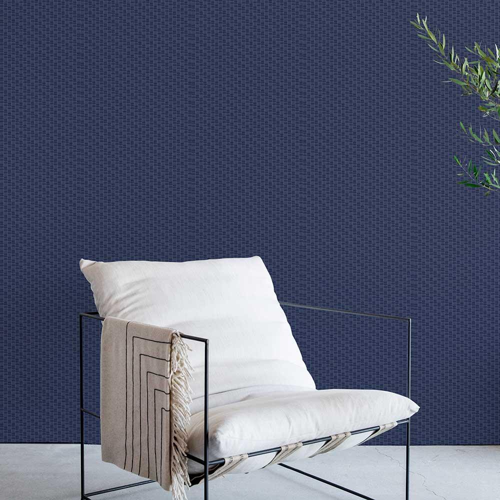 Coordonne Lineal Ultramarine Wallpaper - Product code: 8601417