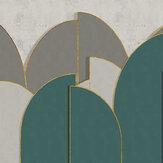 Coordonne Pavilion Turquoise Mural - Product code: 8602001