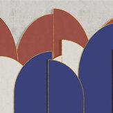 Coordonne Pavilion Ultramarine Mural - Product code: 8602003
