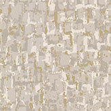 Osborne & Little Tesserae Stone / Metallic Gilver Wallpaper - Product code: W6754-03