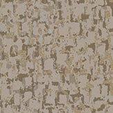 Osborne & Little Tesserae Taupe / Metallic Pale Bronze Wallpaper - Product code: W6754-04
