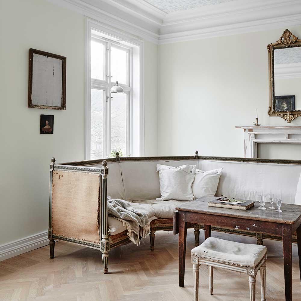 Sandberg Sten White Wallpaper - Product code: 583-00