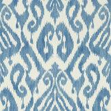 Sanderson Kasuri Indigo Wallpaper - Product code: 216781
