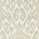 Sanderson Kasuri Country Linen Wallpaper - Product code: 216783