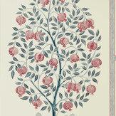 Sanderson Anaar Tree Annato / Blueberry Wallpaper - Product code: 216790