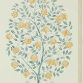 Sanderson Anaar Tree English Grey / Woad Wallpaper - Product code: 216792