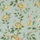 Sanderson Andhara Sea Glass / Lemon Wallpaper - Product code: 216793