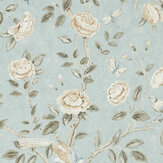 Sanderson Andhara Dove / Cream Wallpaper - Product code: 216797
