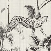 Albany Cheetah Black / White Wallpaper - Product code: 409017
