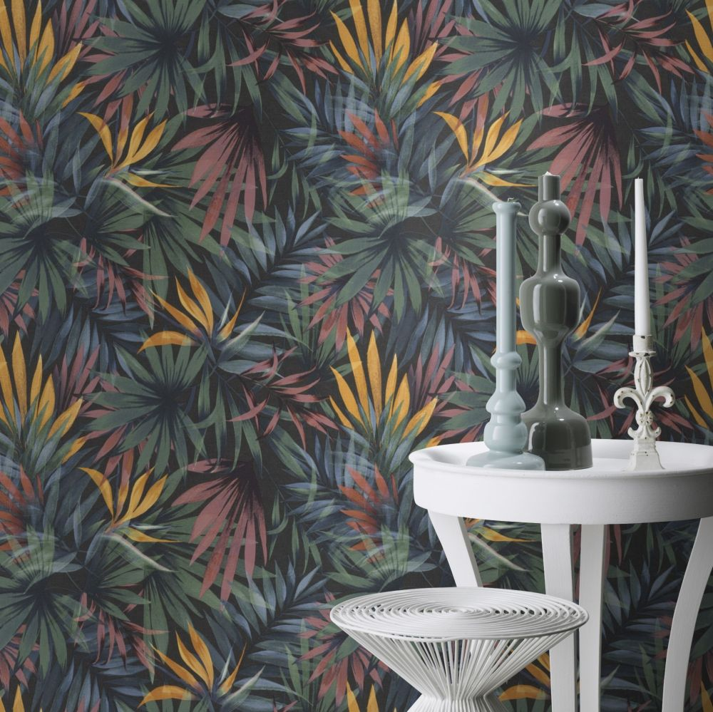 Albany Palm Paradise Multi / Green Wallpaper - Product code: 465228