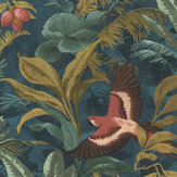 Albany Parrot Jungle Teal Wallpaper - Product code: 639216