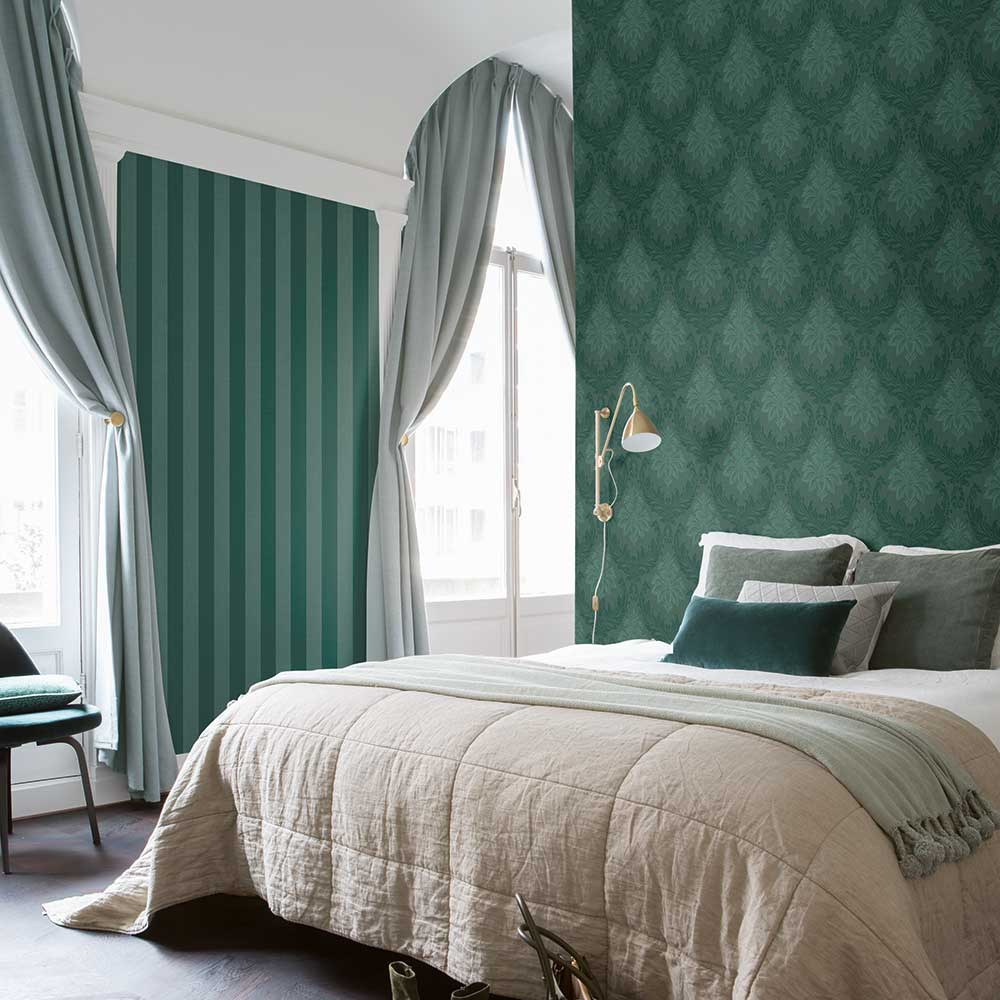 Elite Wallpapers Richmond Damask Forest Wallpaper - Product code: 085463