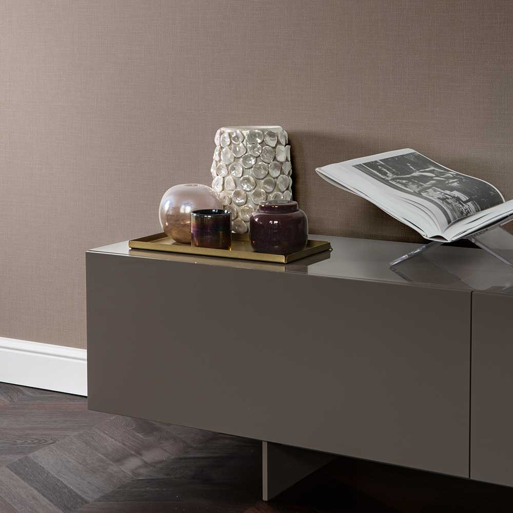 Elite Wallpapers Kensington Plain Chocolate Wallpaper - Product code: 085593
