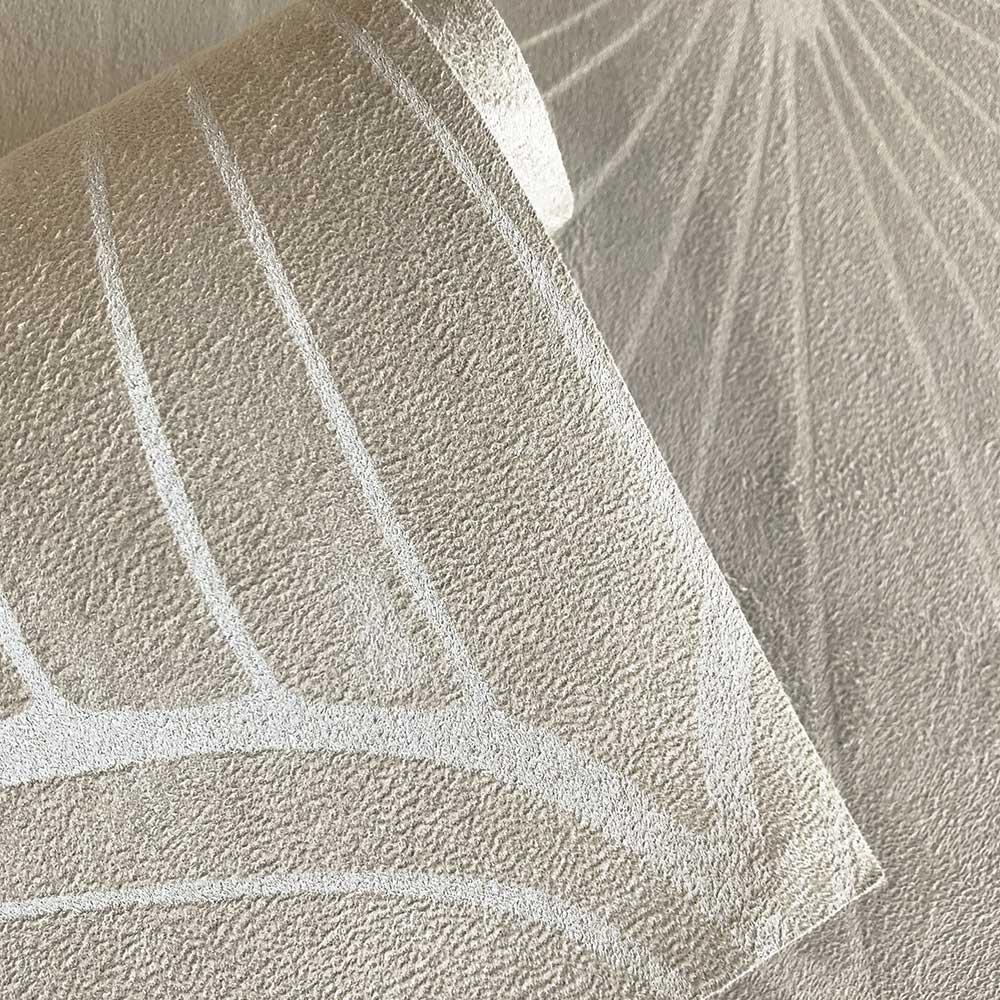 Aya Wallpaper - Beige - by Fardis